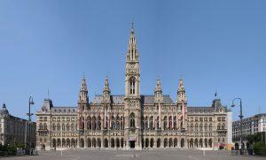 Το κεντρικό κτίριο του δημαρχείου