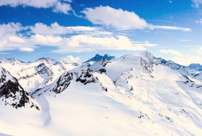 Οι ολόλευκες Αυστριακές Άλπεις