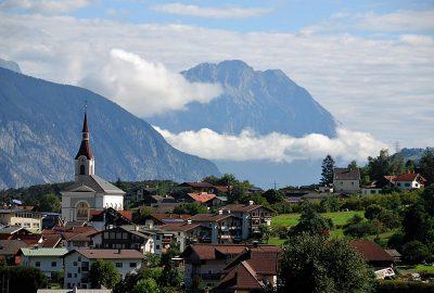Ένα από τα χωριά που μπορεί να συναντήσει κανείς στην Αυστρία